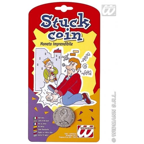 Stuck Down Coin Joke Novelty Funny Practical Joke Trick