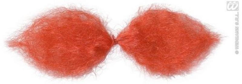 Red German Schnauzer Bushy Moustache Fancy Dress Costume Accessory