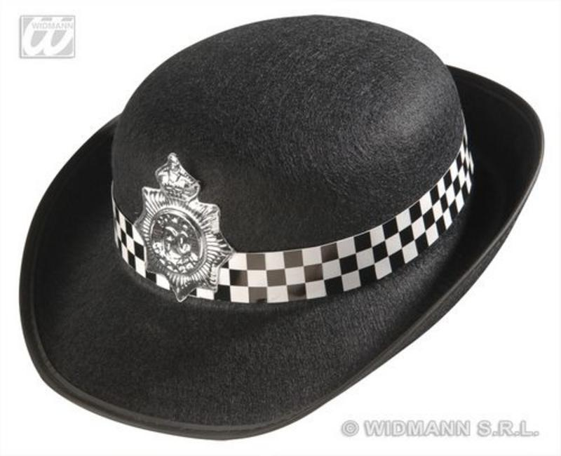 Ladies Felt Policewoman Police Woman Hat Cap Stripper Hen Night Fancy Dress