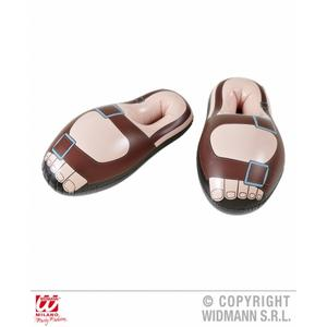 56cm Long Inflatable Sandals Fancy Dress Costume Prop - Jesus