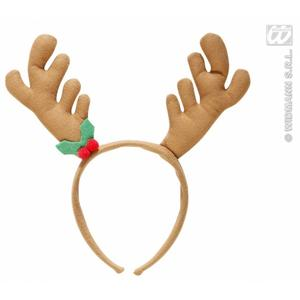 Brown Reindeer Horns Christmas Rudolph Festive Fancy Dress Accessory