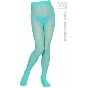 Childrens Turquoise Tights 11-14 Yrs Fairy Princess Fancy Dress Accessory
