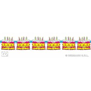Birthday Cake Garland 3M Celebration Party Festival Fancy Dress Decoration Prop