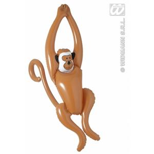 Inflatable Swinging Minkey Chimp Ape 90cm Tall Jungle Tarzan Fancy Dress Prop