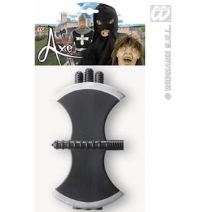 Collapsible Axes 114Cm Grim Reaper Ghost Halloween Fancy Dress Accessory