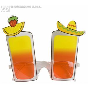 Long Island Cocktail Glasses Beach Party Carnival Fancy Dress Accessory
