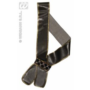 Black Leather Look Sword Sash Sheath Jack Sparrow Pirate Fancy Dress