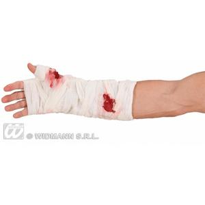 Bloody Arm Bandage Zombie Monster Halloween Fancy Dress Accessory