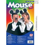 Mouse Set Ears Gloves Nose Rodent Rat Fancy Dress Accessory