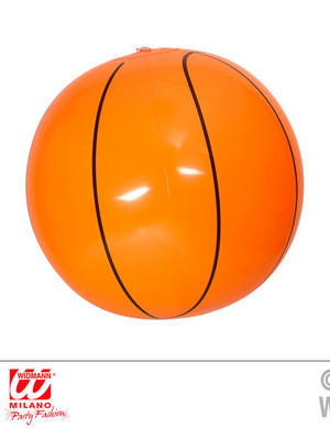 Inflatable Basketball 25Cm Nba Sport Fancy Dress Accessory Prop