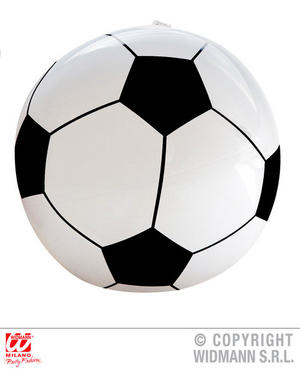 Inflatable Football 25Cm World Cup Soccer Fancy Dress Accessory Prop