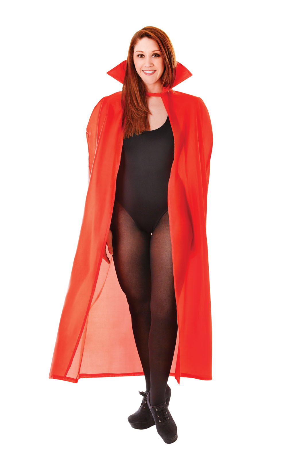 "56"" Polyester Red Dracula Vampire Cape Fancy Dress Costume Halloween New"