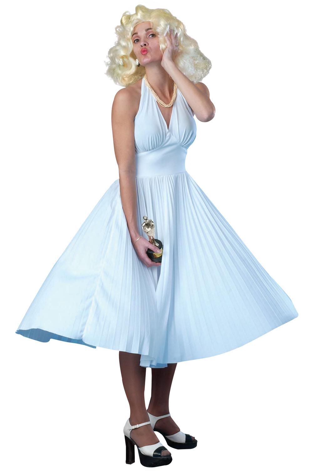 Ladies 1950s Hollywood Filmstar Marilyn 50s Star Fancy Dress Costume UK 10-12  sc 1 st  Fancy Dress 365 & Ladies 1950s Hollywood Filmstar Marilyn 50s Star Fancy Dress Costume ...