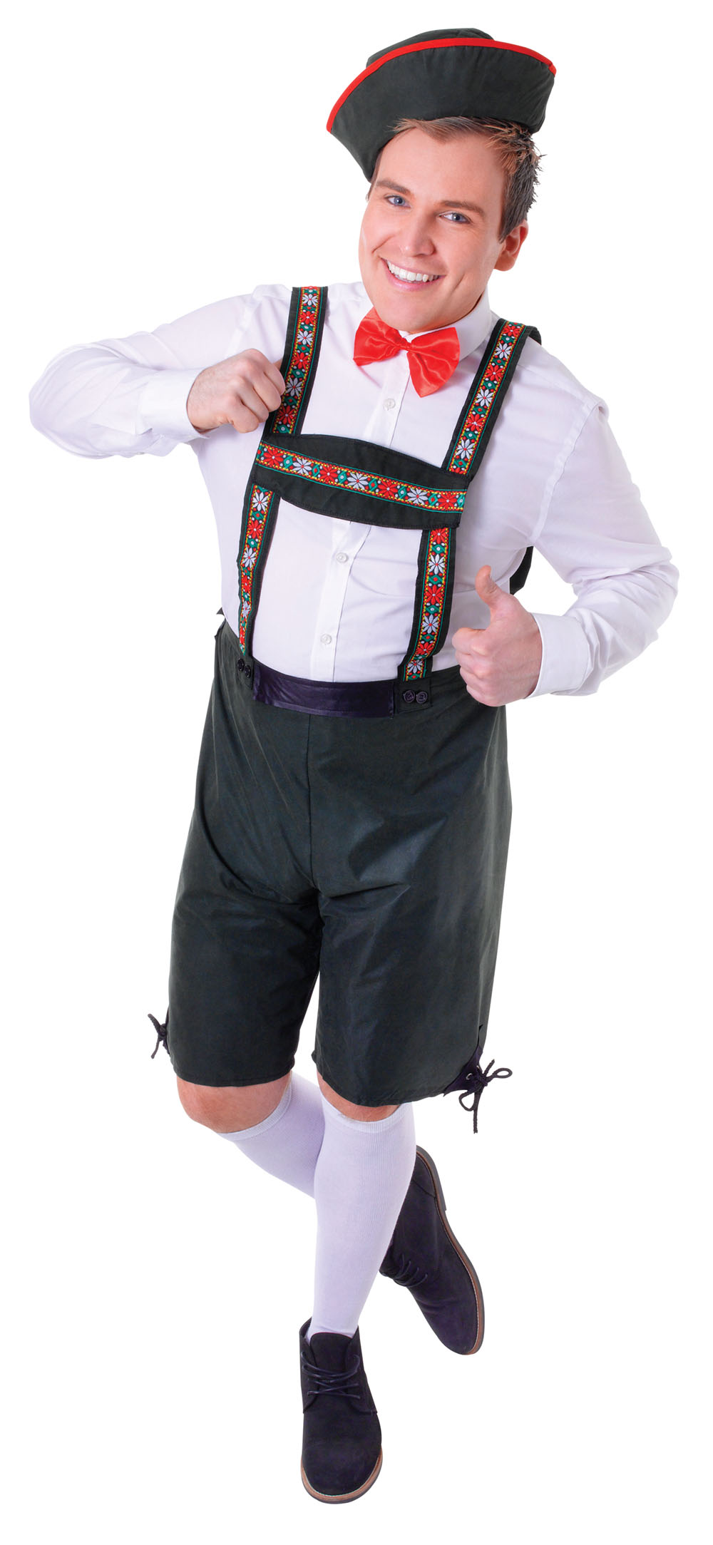Mens Hansel German Style Fancy Dress Costume Childrens Story Party Outfit New