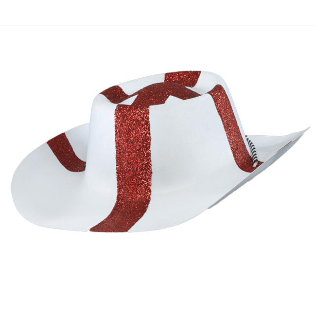 St Georges Day Flag Cowboy Hat England English Stetson Fancy Dress