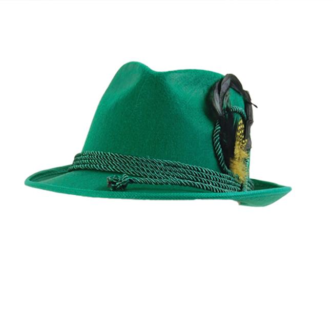 8ea474ea9 Details about German Hat Green Beer Festival Hat Oktoberfest Hat Swiss Maid  Fancy Dress Costum
