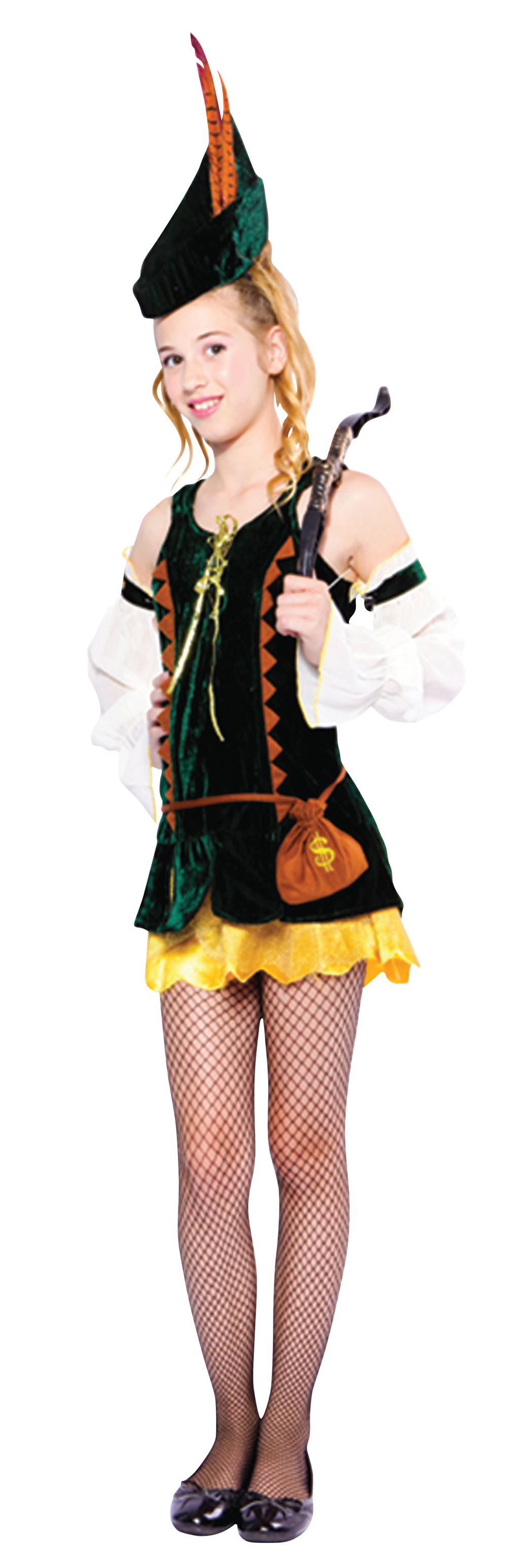Womens Peter Pan or Hansel & Gretel Fancy Dress Costume Character Party Outfit