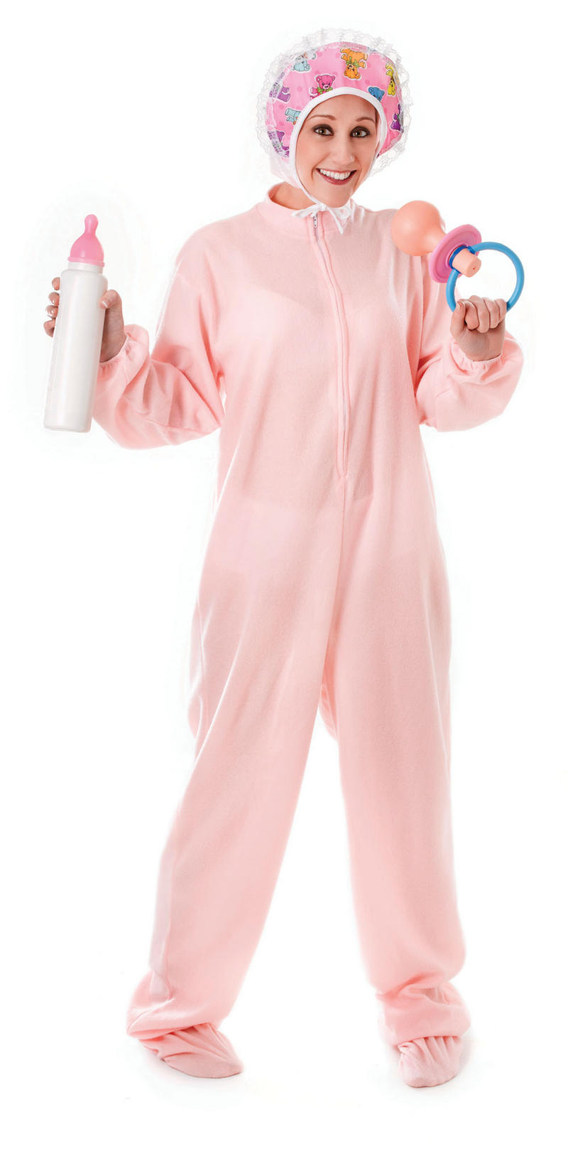 Adults Size Baby Girl Babygrow Fancy Dress Costume Stag Do Hen Party ...
