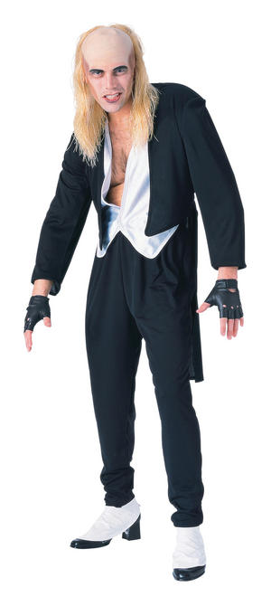 Mens Riff Raff Rocky Horror Show Fancy Dress Costume Scary Halloween Outfit New