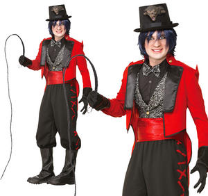 Adult Ringmaster Fancy Dress Costume Mens Circus Lion Tamer Outfit New