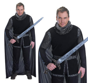 Mens Sherrif Of Nottingham Fancy Dress Costume Robin Hood Outfit New
