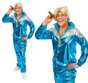 Mens 80S Shell Suit Fancy Dress Costume Scouser Shellsuit Scouse Outfit New