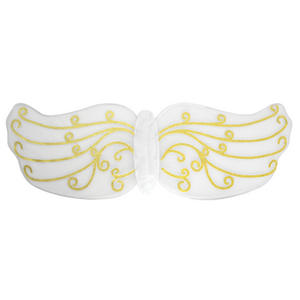 Gold Pattern Angel Wings Gabriel Nativity Play Fancy Dress Costume Prop
