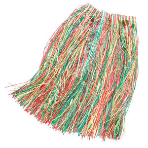 Adult 80Cm Long Hawaiian Grass Skirt Fancy Dress Costume Accessory