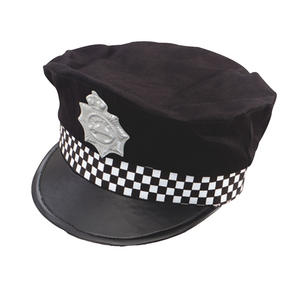 Policeman Cops & Robbers Police Panda Car Hat Fancy Dress Costume Accessory