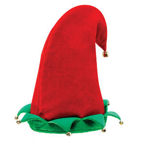 Adule Elf Pixie Hat Christmas Party Fancy Dress Costume Accessory Prop