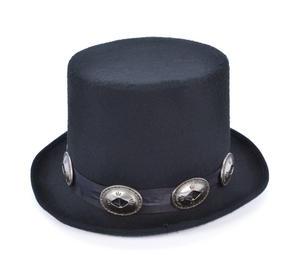 Adult Rocker Styletop Hat Victorian Gothic Edwardian Dickensian Fancy Dress Accessory