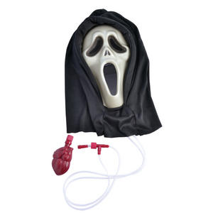 Adult Bleeding Scream Mask Scary Movie Horror Halloween Fancy Dress Accessory