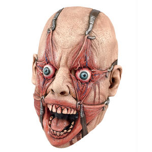 Adult Hamulus Fear Mask Cenobite Torture Mutilation Halloween Horror Fancy Dress Accessory