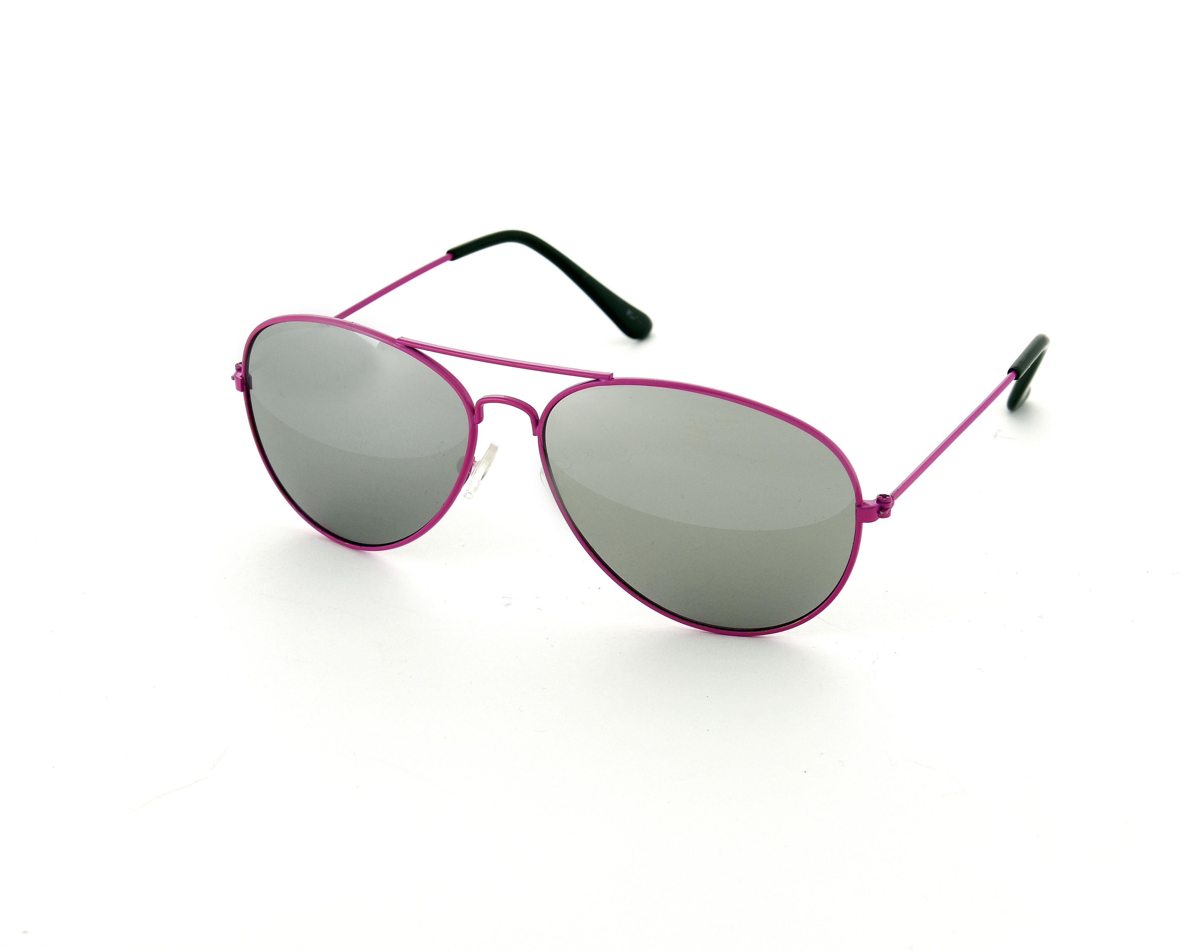 Aviator Silver Mirror Fashion Sunglasses UV400 Unisex Mens Ladies Shades