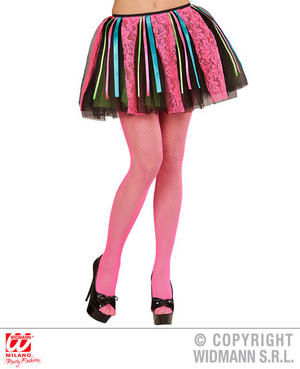 Neon Disco Tutu 80S Pop Star 90S Rave Fancy Dress Accessory Adult