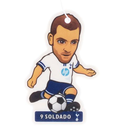 Tottenham Hotspur Fc Spurs Air Freshener Soldado Player Number 9 Football New Tottenham Hotspur Retail Zone