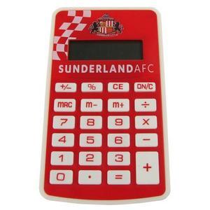 Sunderland Fc Pocket Calculator Red & White Football School Exam Work Office