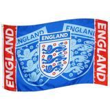 England Football Team FA Flag Blue, White & Red English Supporter Soccer New