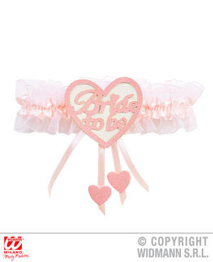Bride To Be Sexy Heart Garter Hen Do Wedding Party Fancy Dress Accessory