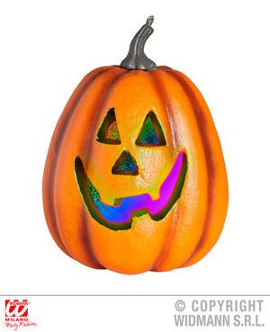 Colour Change Pumpkin Decoration Halloween Fancy Dress Party Prop 23Cm