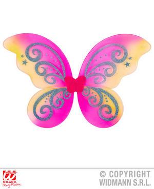 Multicolour Glitte Wings Fairy Tale Pixie Angel Fancy Dress Accessory