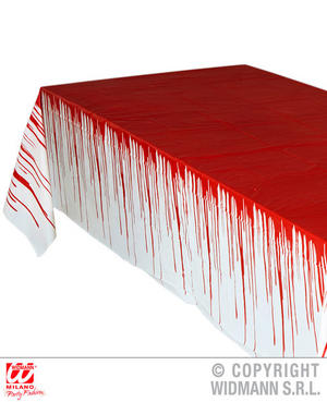 Bloody Tablecloth Halloween Haunted Fancy Dress Party Accessory Decoration Prop