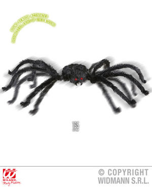 Animated Giant Spider Decoration Halloween Insect Fancy Dress Party Prop 165Cm