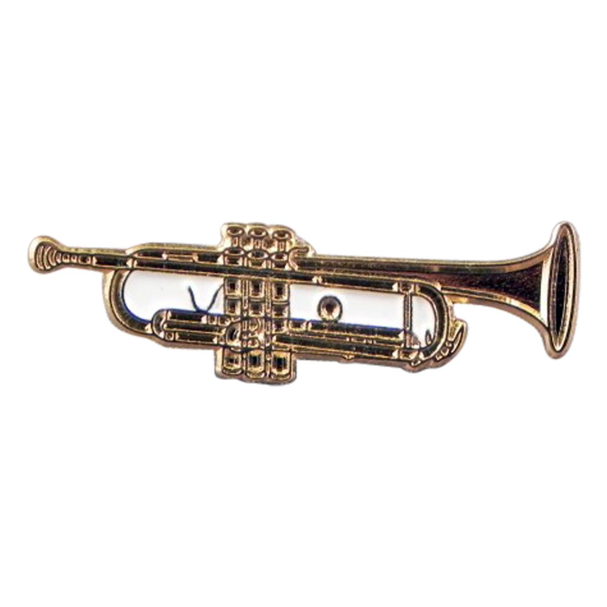 Trumpet Quality Enamel Pin Badge
