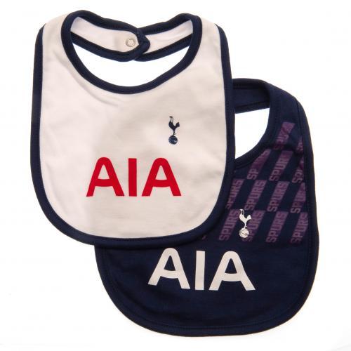 size 40 d2a4f 97bec Details about Tottenham Hotspur Fc Spurs 2 Pack Football Kit Home & Away  Baby Bibs Bandana SP