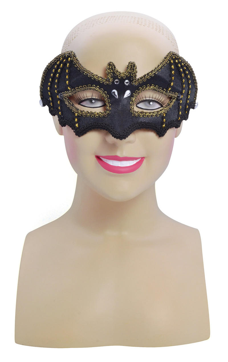 Black Bat Masquerade Ball Party Mask Halloween Batman Fancy Dress