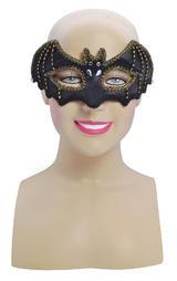 Black Bat Masquerade Ball Party Mask Halloween Batman Fancy Dress