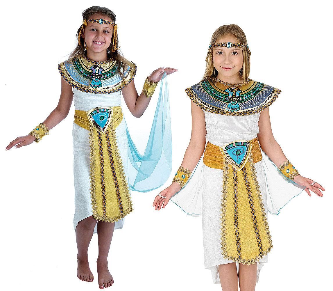 Childrens-Egyptian-Fancy-Dress-Costume-Boy-Girl-Pharaoh-  sc 1 st  eBay & Childrens Egyptian Fancy Dress Costume Boy Girl Pharaoh Kids Outfit ...