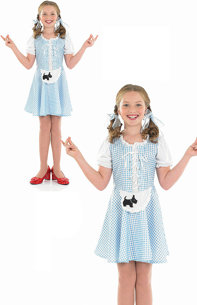 Sentinel Childs Kids Dorothy Girl Fancy Dress Costume Wizard Of Oz Outfit 4-6 Yrs  sc 1 st  eBay : funny wizard of oz costumes  - Germanpascual.Com