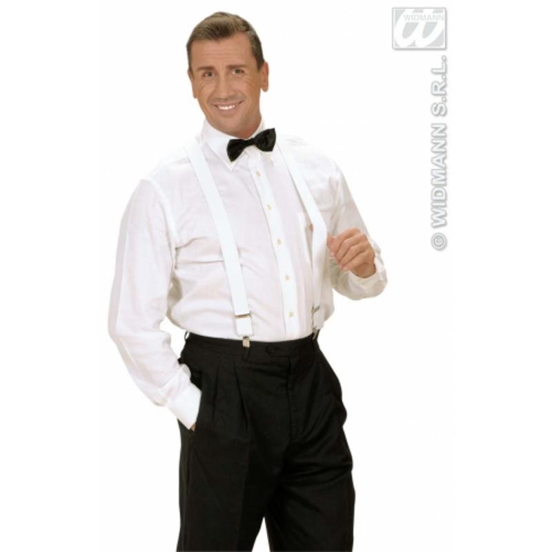 Black Satin Bow Tie Bowtie James Bond Fancy Dress Accessory Prop